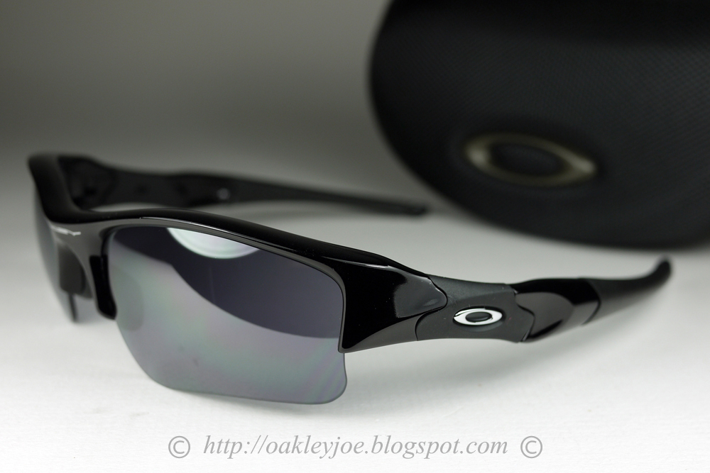 2c2f55ebead1c Oakley Flak Jacket Xlj Sunglasses Jet Black Black Iridium Polarized ...
