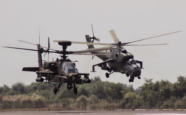 Apache dan Mi-35