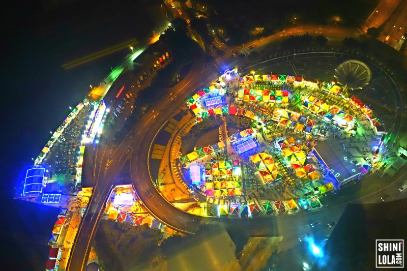 The top view of Macao Food Festival