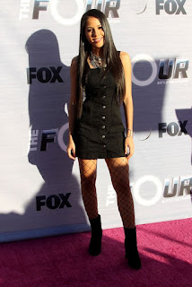 Elanese Lansen At The Four Battle For Stardom Viewing Party In West Hollywood
