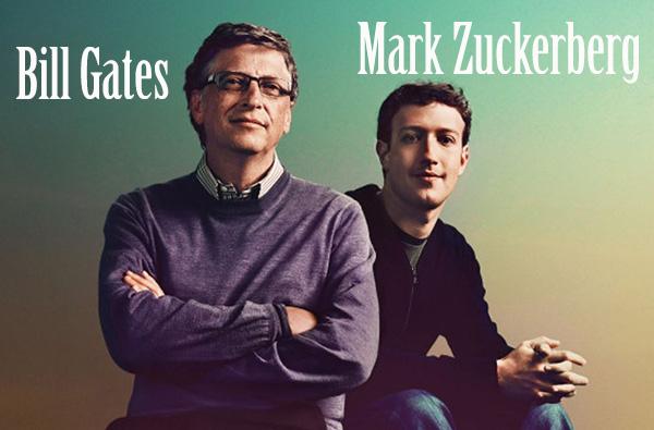 Bill Gates vs Mark Zuckerberg