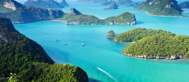 The Islands in Thailand