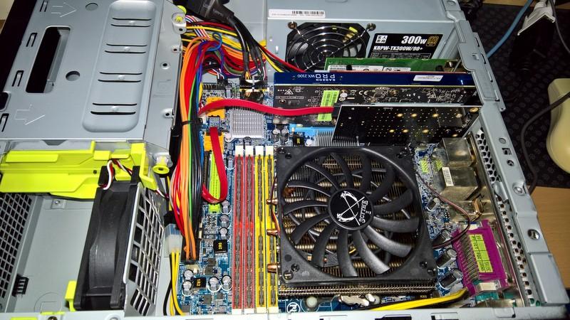 続:低速PC鈍行記。: 【誰得】NVMe非対応の環境でNVMe SSDから