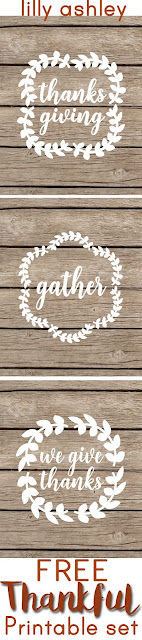 free gather printables