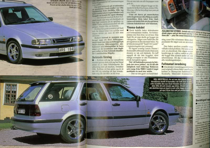 Saab 9000 combi, the Saab that never happened ~ Royal Security