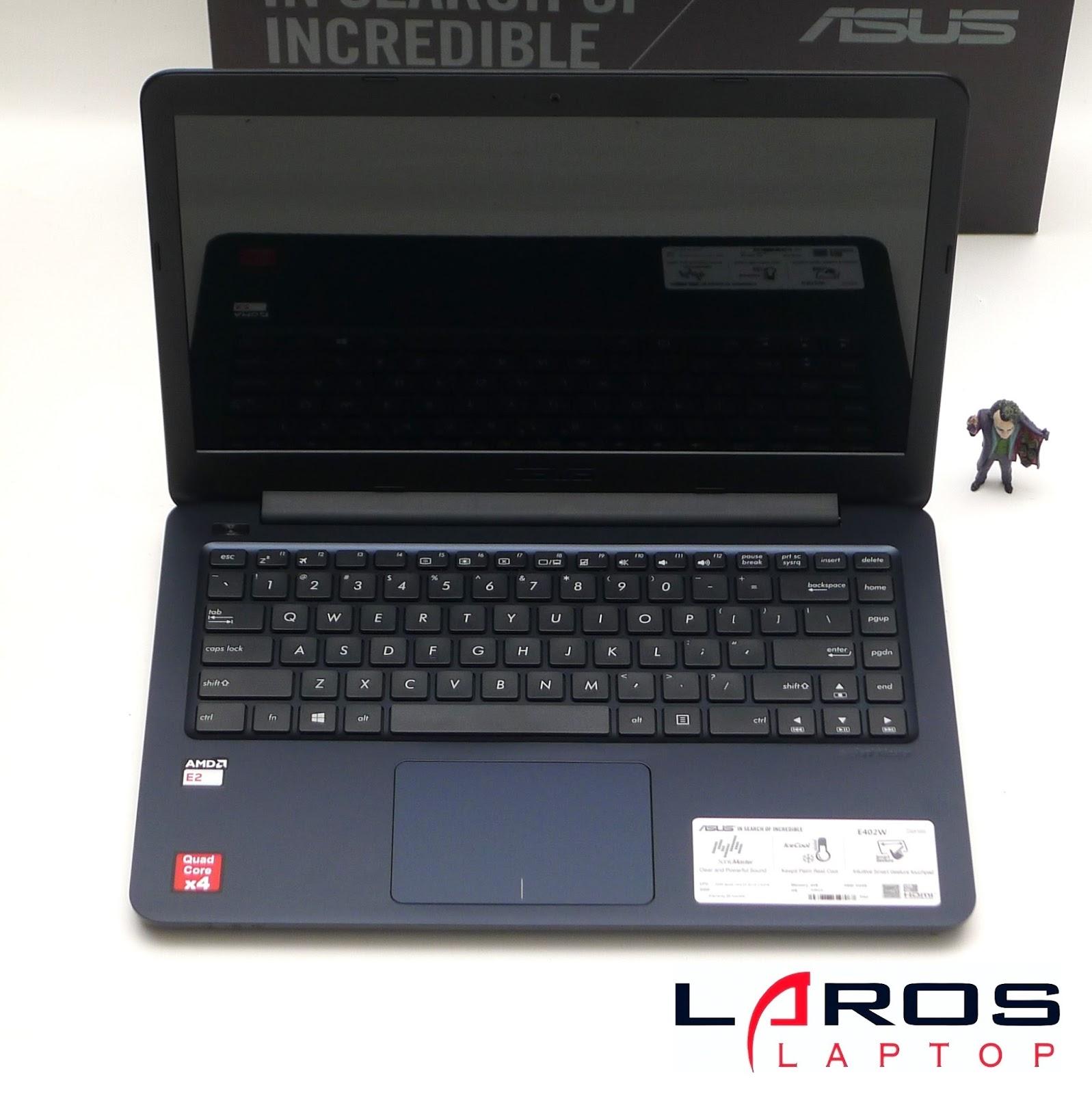 Laptop Baru ASUS E402WA GA001T AMD Quad Core