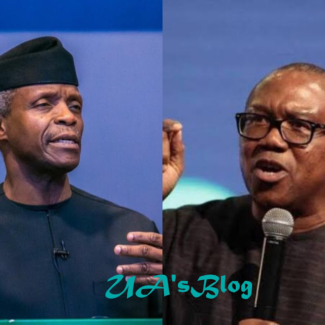 "BREAKING!! 2019 : ""You Can't Shut Down Your Shop And Be Chasing Criminal"" Peter Obi Clashes With Osinbajo"