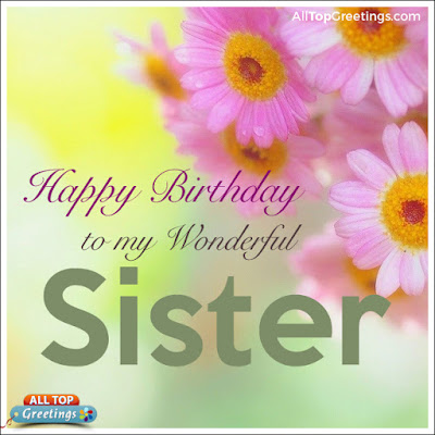 sister birthday greetings images messages