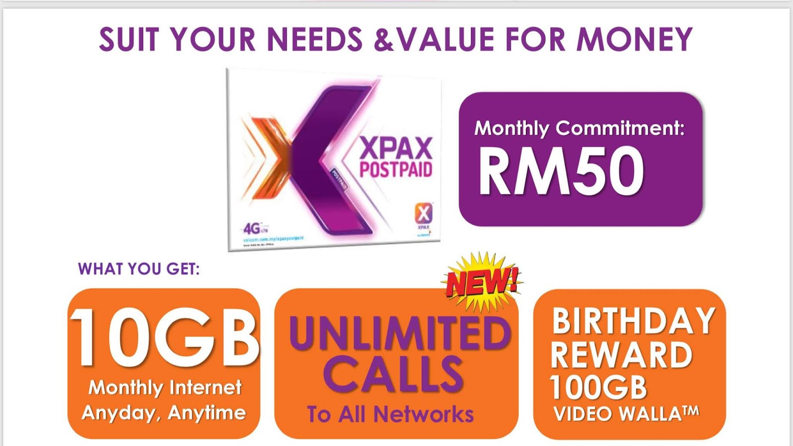 Celcom Xpax Postpaid 50 2 0 Unlimited Call 10gb Data Cerita Budak Sepet