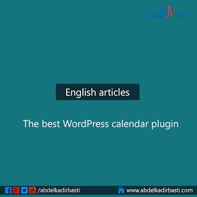 The best WordPress calendar plugin
