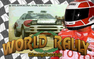 Videojuego World Rally Championship