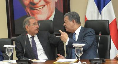 Lucha por el poder entre Leonel-Danilo absorbe al PLD