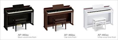 Đàn piano điện casio celviano ap-460 hiện nay giá bao nhiêu