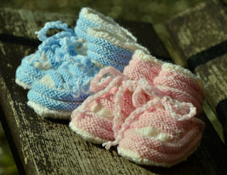 Our-Weekly-Journal-6th-Mar-2017-baby-booties-pink-and-blue