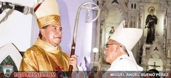 Monseñor Ramón Alberto Rolón Güepsa se posesionó como Obispo de la Diócesis de Montería | Rosarienses, Villa del Rosario