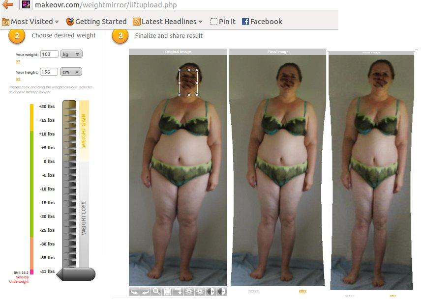 sinnlich Abnehmen für Anfänger: Abnehm - weight loss Simulator
