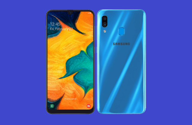 Samsung Galaxy A30 specs