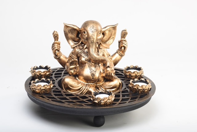 Lord Ganesha light by Casa Colour