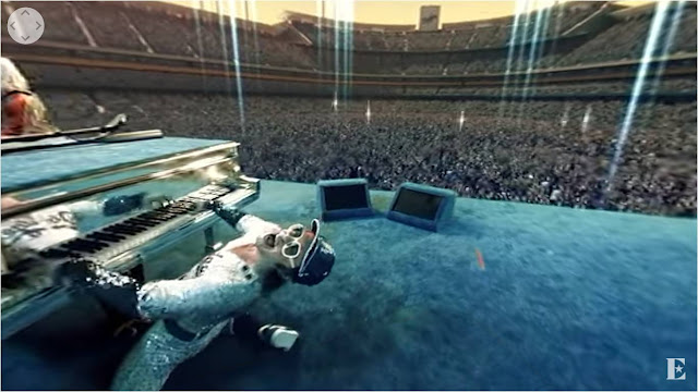 Elton John Farewell Yellow Brick Road VR360 YouTube tour video