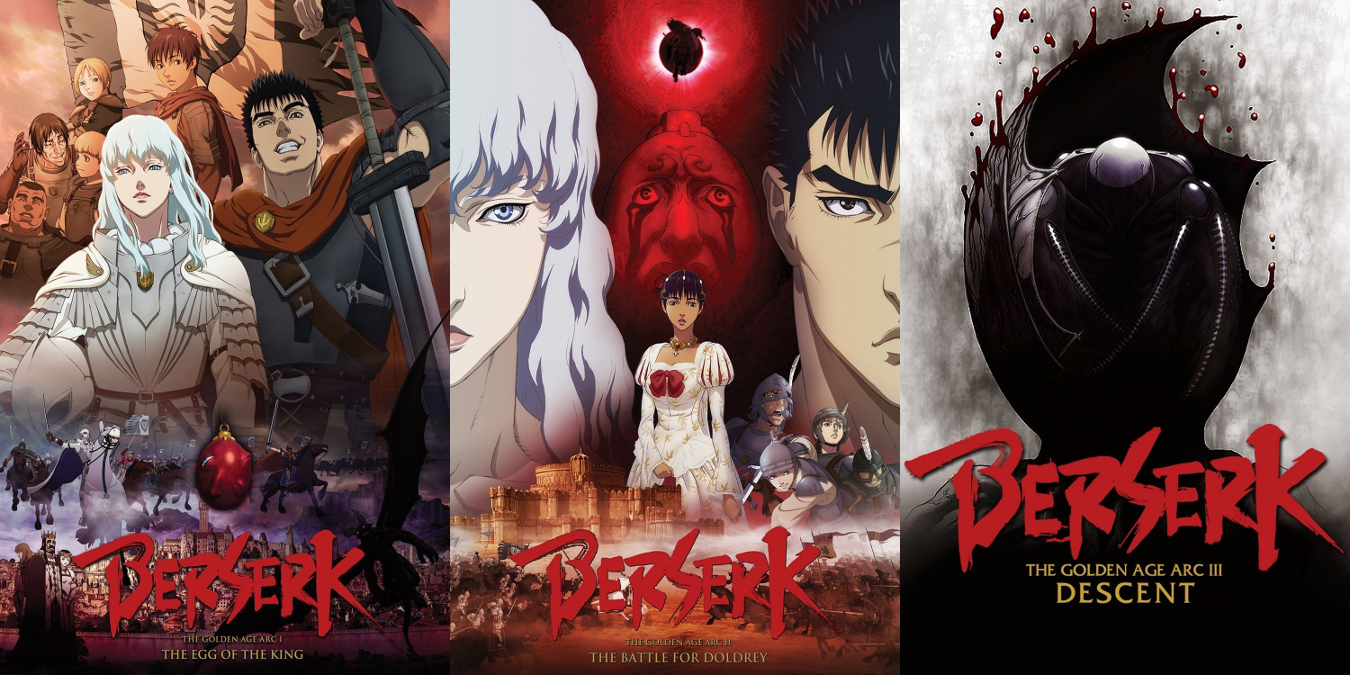 berserk golden age arc i the Loner guts is recruited by griffith and his band of mercenaries, but their ensuing  success as a full-fledged army could lead to a horrible fate watch trailers.