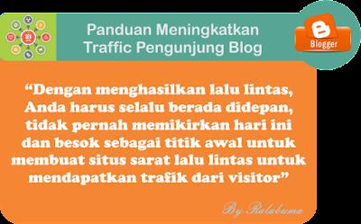 Panduan Meningkatkan Trafik Pengunjung blog
