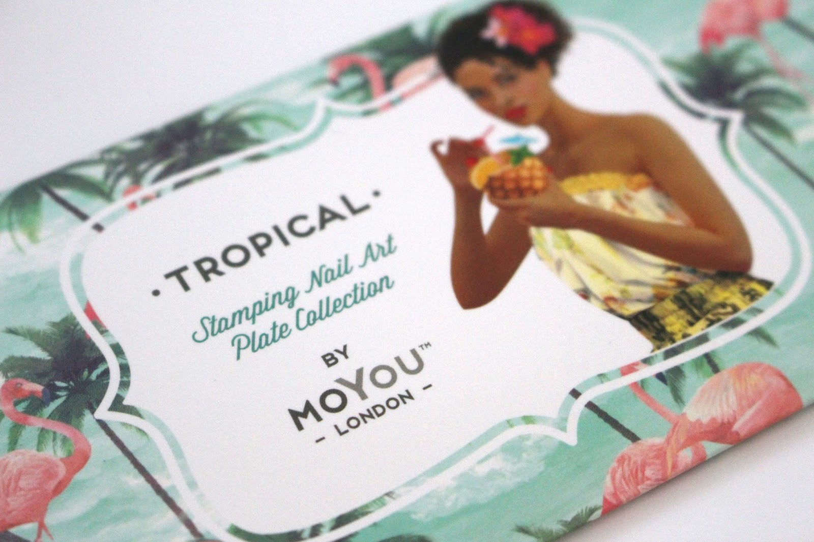 MoYou Tropical Stamping Plate Blog