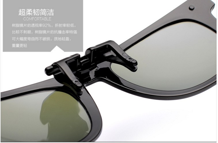 b63d73eb95d CO3 Clip On Polarized Sunglasses Anti Dazzle for Car Driving Specs