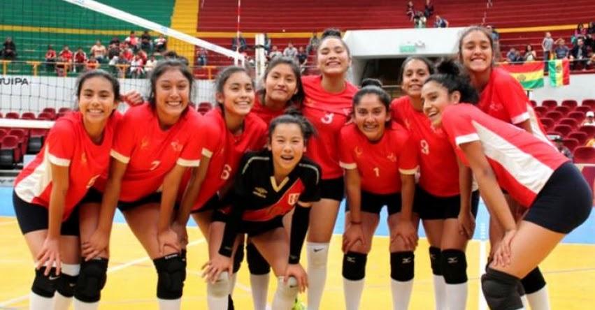 MINEDU: Vóley femenino peruano ganó oro en Juegos Sudamericanos Escolares - www.minedu.gob.pe