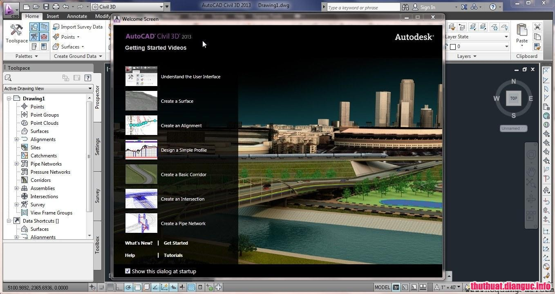 Download Autodesk AutoCAD Civil 3D 2013 x64/x86 Full Cr@ck