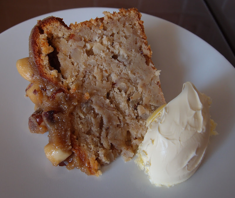 The Caked Crusader Toffee Topped Banana And Brazil Nut Cake