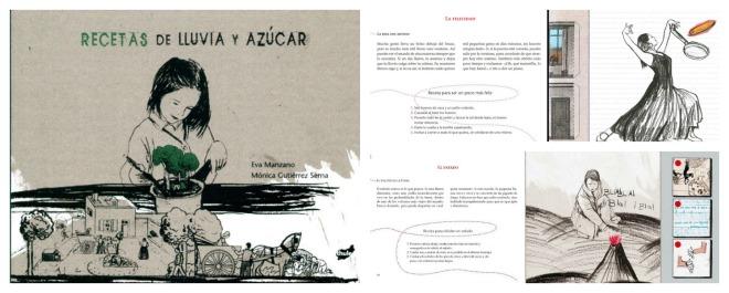 Libro infantil para la educación emocional: recetas de lluvia y azúcar