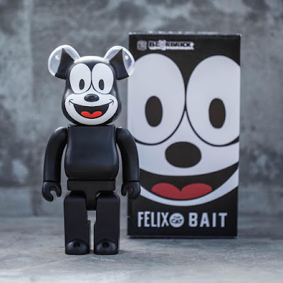 San Diego Comic-Con 2016 Exclusive Felix the Cat 400% Be@rbrick Vinyl Figure by Bait x Medicom