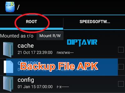Cara Backup File Apk dan OBB Sebelum Melakukan Editing atau Modifikasi Pada Game Dream League Soccer