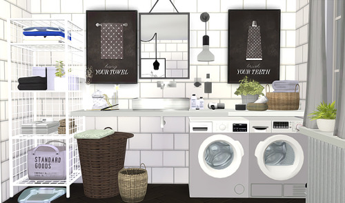 My Sims 4 Blog Bathroom Prints By Viikiita