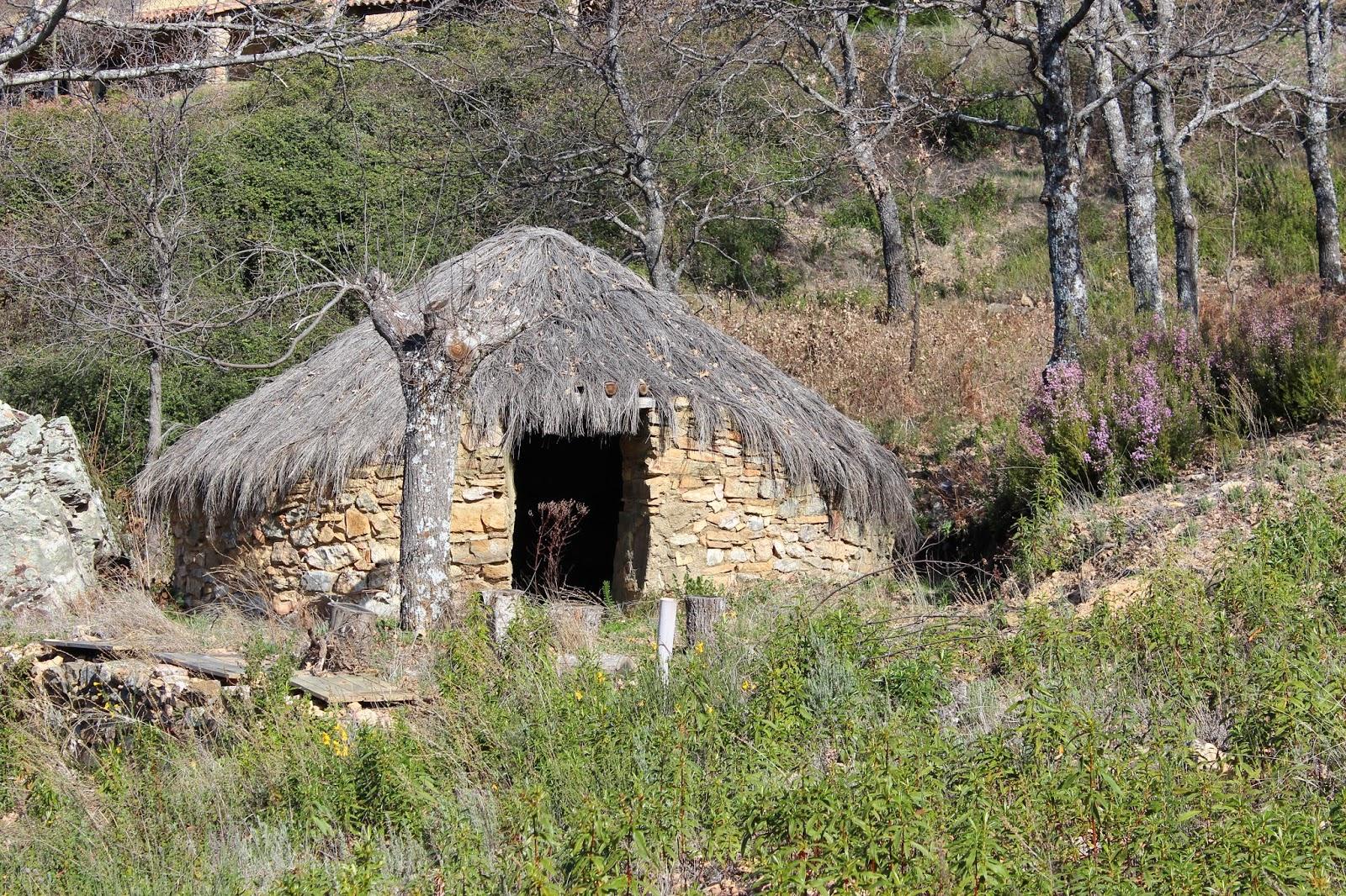 Cabañas de pastores en Berzocana