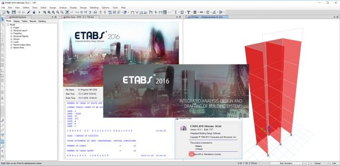 دانلود کرک etabs 2016.2.1