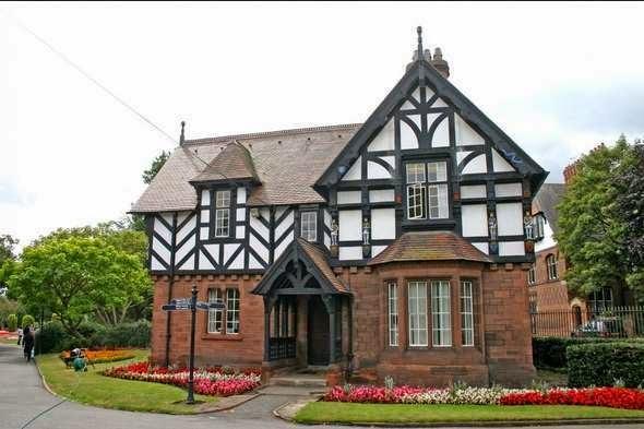 model rumah gaya inggris 1
