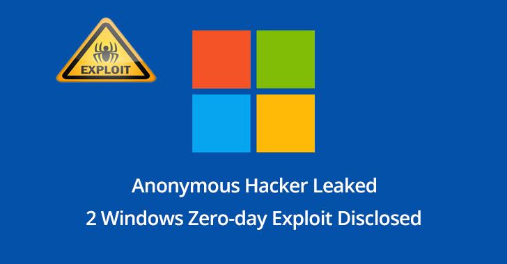 Windows Zero-day bug