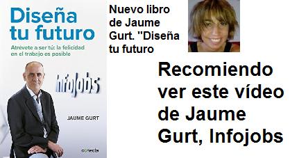 """""""DISEÑA TU FUTURO"""", JAUME GURT. VER SU LIBRO EN AMAZON"""