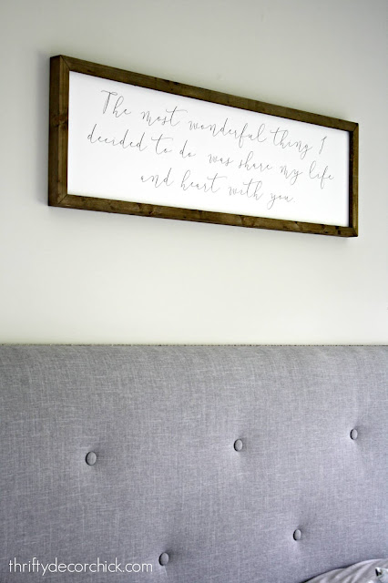Art for over the bed