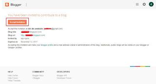 Cara Termudah mengganti Email Blog