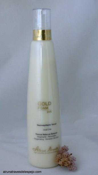 gold foam desmaquillante alissi bronte