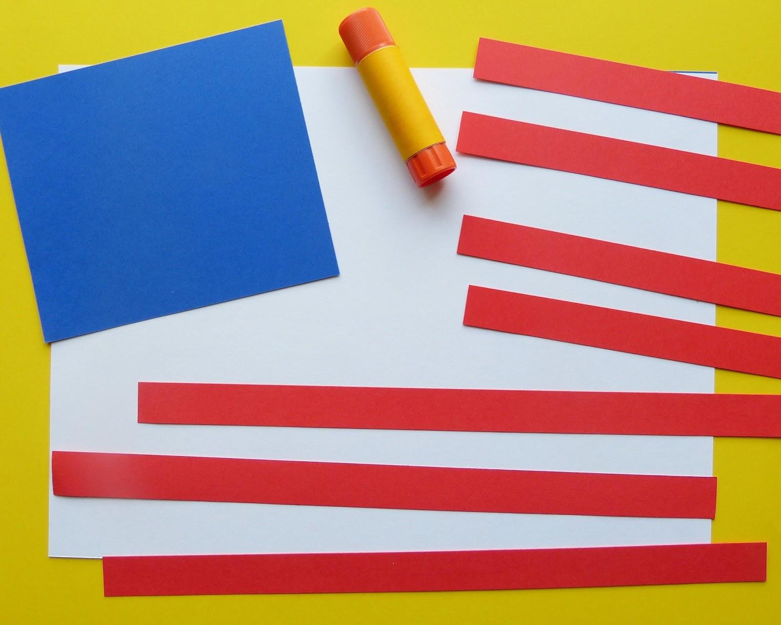 Paula S Primary Classroom Usa Flag Craft Tutorial