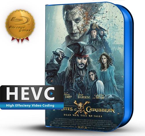 Pirates of the Caribbean: Dead Men Tell No Tales (2017) 1080P HEVC-8Bits BDRip Latino/Ingles(Subt.Esp)(Aventura)
