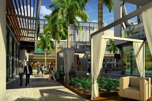 Restaurantes no Shopping Westfield UTC em San Diego na Califórnia