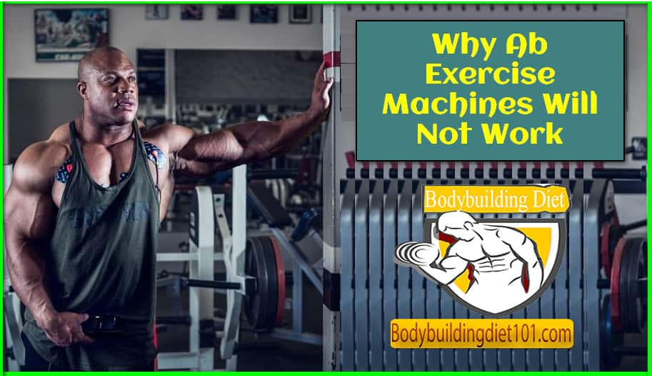 Why Ab Exercise Machines Will Not Work
