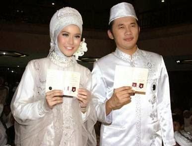 Model baju pengantin muslim modern desain terbaik  10 Model Baju Pengantin Muslim Modern Desain Terbaik 2017