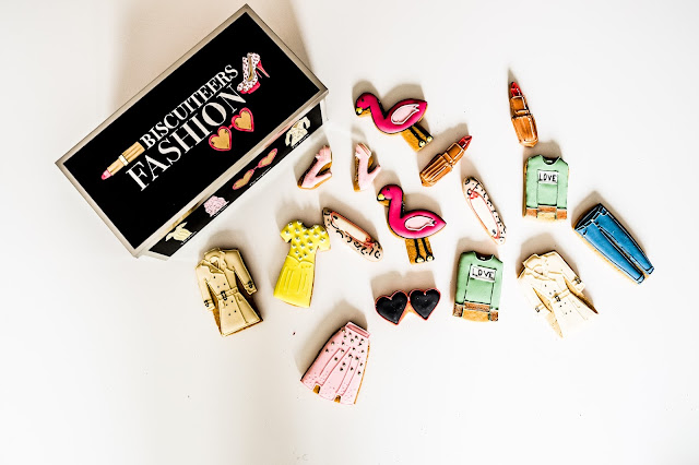 Biscuiteers 10th birthday, fashionista collection, mandy charlton, photographer, writer, blogger