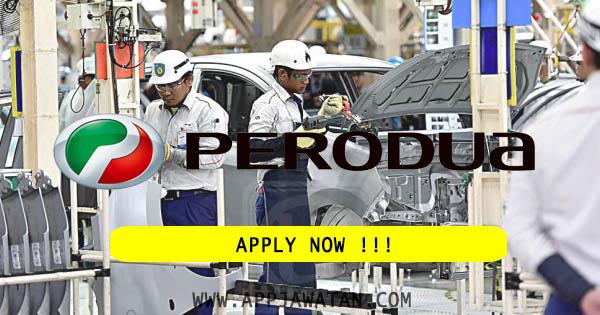 Jawatan Kosong Terkini di Perusahaan Otomobil Kedua Berhad (PERODUA)