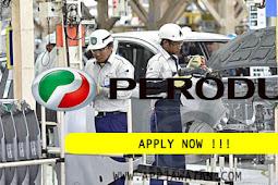 Jawatan Kosong Terkini di Perusahaan Otomobil Kedua Berhad (PERODUA).